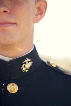 wedding portraits | marine | www.cdanisnapshots.com Marine Corps Dress Blues, Usmc Dress Blues, Senior Portraits, Wedding Portraits, The Office Wedding, Marine Corps Officer, Marine Baby, Marine Photography, Amazing Nature Photos