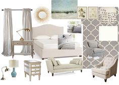 Master Bedroom Design Board | Home Remedies