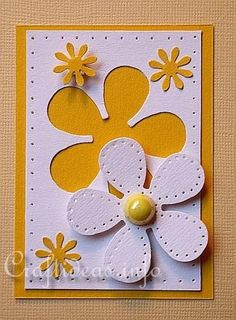 Weekly card challenge july 8 14 winner in first post club ck the online community and scrapbook club from creating keepsakes Atc Cards, Card Tags, Paper Cards, Stampin Up Cards, Arte Punch, Punch Art, Tarjetas Diy, Artist Trading Cards, Flower Cards