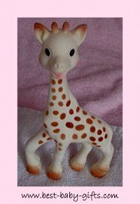 Sophie The Giraffe - cute organic baby gift idea Best Baby Gifts, Unique Baby Gifts, Baby Congratulations Messages, Diaper Cakes Tutorial, Organic Baby Toys, Baby Teethers, Giraffe, Teething Toys, Newborn Gifts