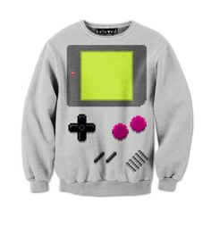 Video Game Pullover... laugh harder than i probably should have... awkward silence... never heard of it