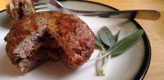 Paleo Apple and Bacon Rosemary Pork Burgers
