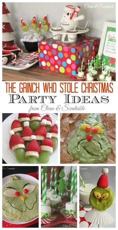 Grinch Party - Clean and Scentsible