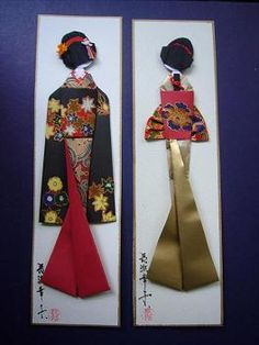 bookmarks. Very similar for a hanfu.