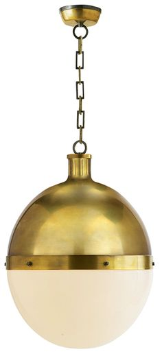 Circa Lighting | Hicks pendant, but with clear glass rather than frosted glass
