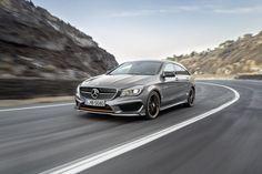 Anna Fenningers heißer Seitensprung - Mit dem CLA Shooting Brake hat Mercedes einen Verführungskünstler im Schauraum. Zum Auto-Test: http://www.nachrichten.at/anzeigen/motormarkt/auto_tests/Anna-Fenningers-heisser-Seitensprung;art113,1988330 (Bild: Daimler AG)