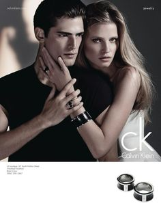 Lara Stone & Sean O'Pry - Calvin Klein - ck Calvin Klein Watch & Jewelry Campaign F/W 12