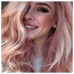 Photo: websta.me This pretty berry blonde recalls a glass of cool, refreshing berry lemonade. A whisper of pink is a great way to give your blonde a fun, summery pick-me-up. This formula is a perma...