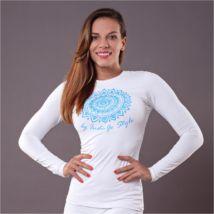Csakra Jóga Trikó - Torok – Indi-Go Graphic Sweatshirt, Sweatshirts, Hot, Sweaters, Fashion, Moda, Hoodies, Trainers, Sweater