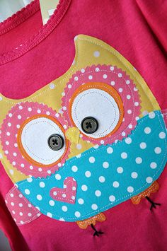 owl ... so cute! i have to make these for my girls.
