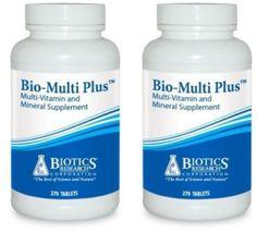 Biotics-Research-Bio-Multi-Plus-270-Tablets-2-PACK-1162-Exp-9-18-SD
