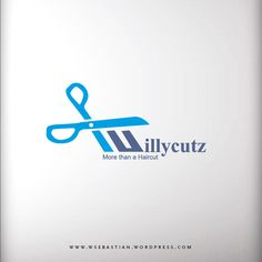 Logo for a barber shop called Willycutz