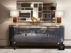 #console #luxuryfurniture #lighting #walldecor #interiordesign