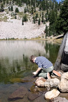 The National Park you've never heard of before! It's called Lassen Volcanic National Park and its glacial lakes are perfect for head dunking.