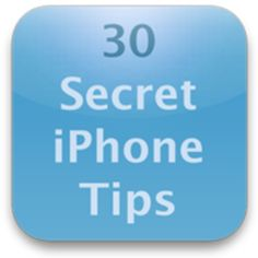 30 Cool iPhone tips to keep up to speed with #technology. Great ones to  use with #socialmedia too!