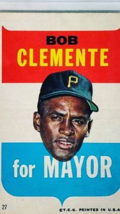 Number 21, Roberto Clemente, Bart Simpson, Puerto Rico, Mlb, It Cast, Baseball Cards, Game, Sports