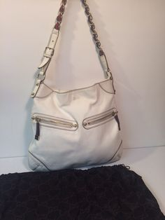 My Gucci Capri Ranch Kid Leather Shoulder Bag  by Gucci! Size  for $$395.00. Check it out: http://www.vinted.com/womens-bags/traditional-bags/22407899-gucci-capri-ranch-kid-leather-shoulder-bag.