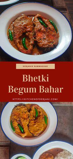 Bhetki Begum Bahar Recipe from Debjanir Rannaghar #fishcurry #bhetkifish #Debjanirrannaghar #recipe #bengalifood #food