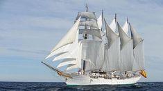 El buque Elcano abrirá sus puertas durante tres días