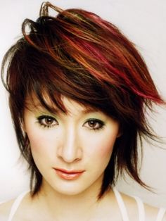 wish I was brave enough to do to my hair. Love the colors.