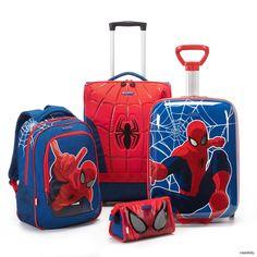 Marvel Wonder - Spider-Man Collection by Samsonite Spiderman Theme, Spiderman Kids, Toy Cars For Kids, Toys For Girls, Boy Car Room, Pokemon Latias, Coral Curtains, Kids Bed Design, Miles Morales Spiderman