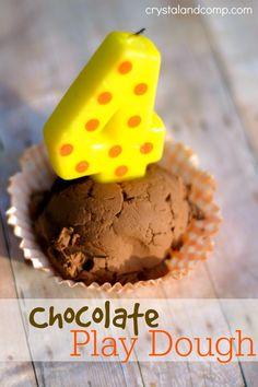 DIY recipe for play dough chocolate