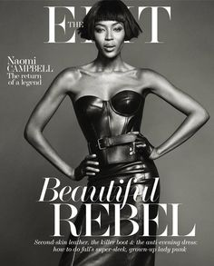 Naomi Campbell - The Edit (Net-A-Porter Magazine) - The Edit October 2013 Cover
