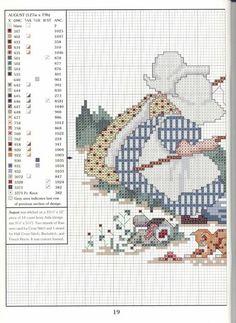 PATRONES DE PUNTO DE CRUZ Y ALGO MÁS (pág. 16)   Aprender manualidades es facilisimo.com