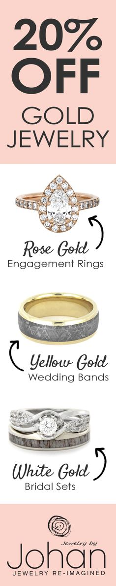 20% off all Gold Jewelry, January 24-29, 2017