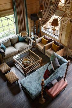 Красивый гостевой дом из дерева в Подмосковье