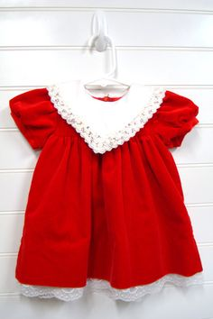 Vintage Baby Girls Dress by OnceUponADaizy, $24.00