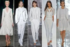 White Spring 2013's Biggest Runway Fashion Trends (15 Photos)