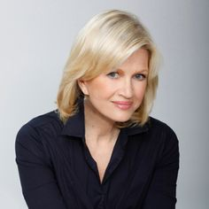 Diane Sawyer is one of my favorite people. She's not only smart and pretty, she's also incredibly funny and kind... And she has Mike Nichols for her husband. I adore Mike Nichols!