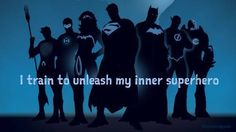 I train to unleash my inner superhero #calstrength #weightlifting #motivation
