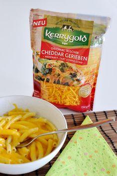 Macht das nächste Mac'n'Cheese besoners lecker: deraromatishce Original Irische Cheddar von Kerrygold schmeckt cremig-herzhaft und schmilzt im Ofen zu einer käsig-goldenen Kruste