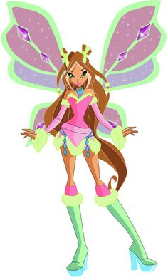 flora fairy of nature lovix