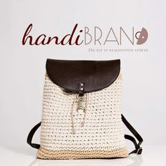Crochet backpack...canapas cord