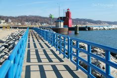 Walk the pier at the beach and enjoy the blue waters and pristine beach views.