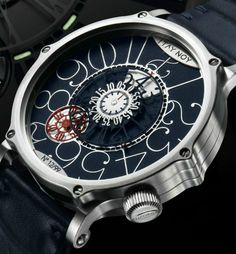 The DiaLOG Watch by the great Israeli watchmaker Itay Noy. each version of the DiaLOG only was only made 99 times.    http://mywat.ch/dialog