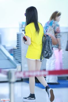 MissA Jia @ Airport #back