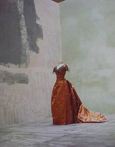 An evening gown by Worth