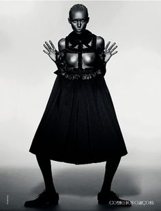 AnOther Magazine A/W08 Comme des Garçons, shot by Sølve, styled by Marie Chaix.