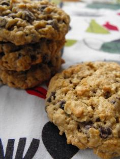 Hanging On by a Needle and Thread: Low-Fat Oatmeal Cookies