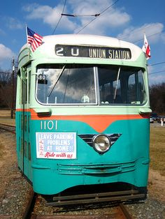 DC Transit PCC at Wheaton Trolley Museum.