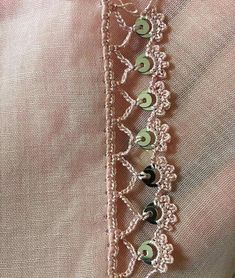 This Pin was discovered by Gul Angel Crochet Pattern Free, Crochet Border Patterns, Baby Knitting Patterns, Crochet Designs, Embroidery Patterns, Free Crochet, Hairpin Lace Crochet, Needle Tatting, Crochet Fashion