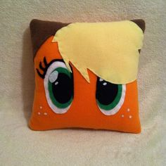 Applejack Plush Pillow, My Little Pony Bedroom, Pony Decor