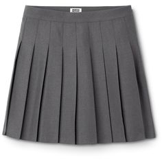 Rouge Skirt ❤ liked on Polyvore featuring skirts, clothes - skirts, short skirts, knee length pleated skirt, pleated skirt and short pleated skirt