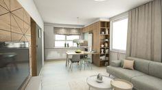 Návrh interiéru Borodáčova / Reconstruction of a flat in Bratislava Bratislava, Divider, Flat, Furniture, Home Decor, Bass, Decoration Home, Room Decor, Home Furnishings