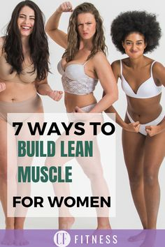 My best tips on how to gain lean muscle for woman! 7 crucial steps for getting a toned look!   #muscle#leanmuscle#buildmuscle#womenwholift#musclebuilder Muscle Mass, Gain Muscle, Build Muscle, Muscle Building Tips, Muscle Building Supplements, Fitness Equipment, No Equipment Workout, Exercise Motivation, Fitness Motivation
