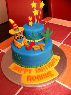 Hungry Henry Cake